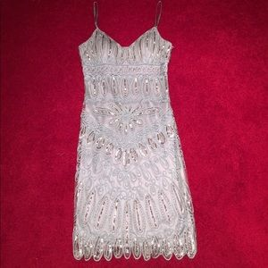Sue Wong beaded tank dress