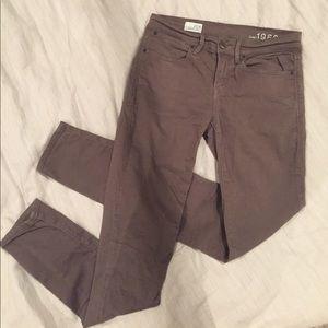Gap Light Brown Mid-rise Legging Jeans