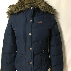 Hollister Women's Jacket size M. Dark Navy Blue