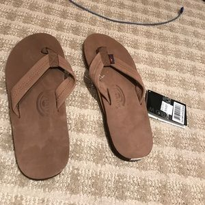 Other - Rainbow Camel Colored Sandals
