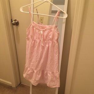Victoria's secret sleeping dress Xs cotton