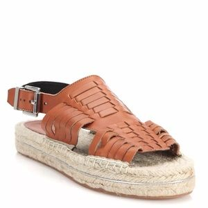 Rebecca Minkoff Woven leather Gabriel Sandals