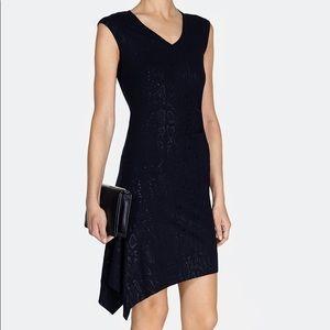 Karen Millen Snakeprint Knit Dress Size 1