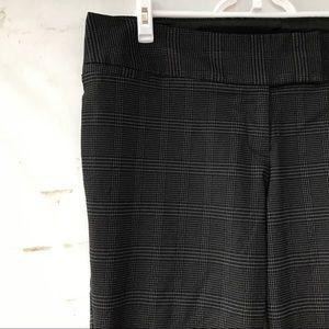 Torrid Black Plaid Trousers Size 18