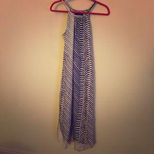 Calvin Klein full length summer dress