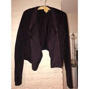 Under Armour Plum Workout/Fashion Jacket