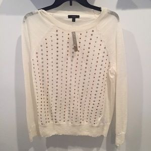 NWT J. Crew Sequins sweater