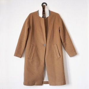 Madewell Monsieur Coat — Camel US 4