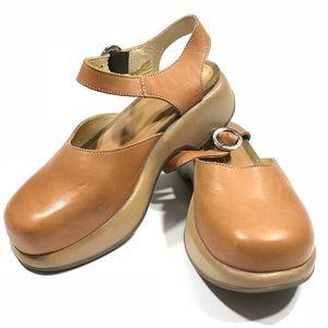 Dansko Sam EU 36 Sand Nude Sandal US 6 Mary Jane