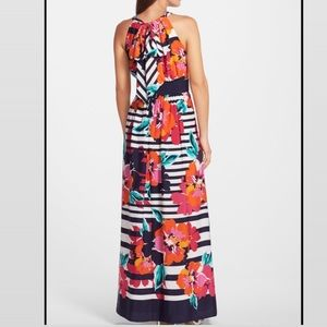 Eliza J Floral Print Maxi Dress Size 6