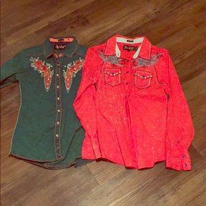 Roar western shirt bundle (m)