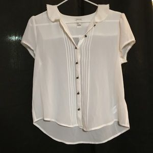 Forever 21 cute blouse size small
