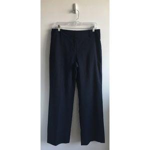 Ann Taylor Navy Signature Fit Pants