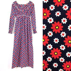 🌼 1970s empire waist prairie maxi dress 🌼