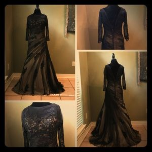 Dramatic special occasion gown