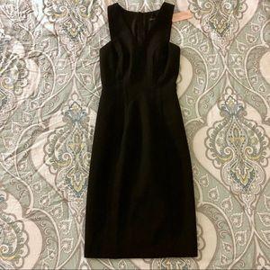 NWT BR Exposed Zipper Dress