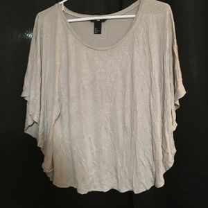 H&M poncho like top size small