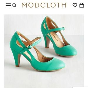 'Fountain of Truth' Heel in Mint