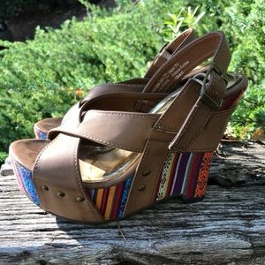 Not Rated multi-colored wedges