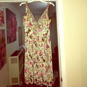 Adorable 100% Silk Tracy Reese dress sz 6