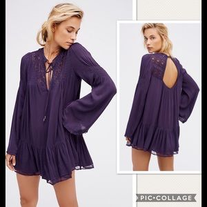 NWT Free People One Night Victorian Tunic Dress