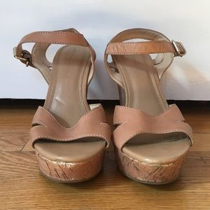Banana Republic Shandee Cork Wedges