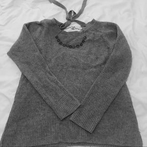 Banana Republic Wool Sweater with tie