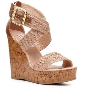 Steve Madden Sli Cork Wedge