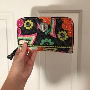 Vera Bradley Ziggy Zinnia Wallet