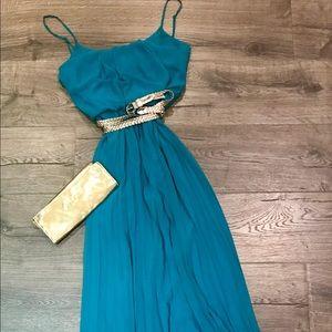 Dress. Sea breeze color.