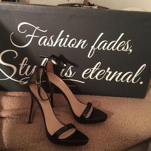 Zara ankle strap heel