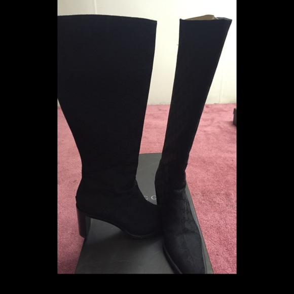 763a865b52d Gucci Shoes - Authentic Gucci GG Boots