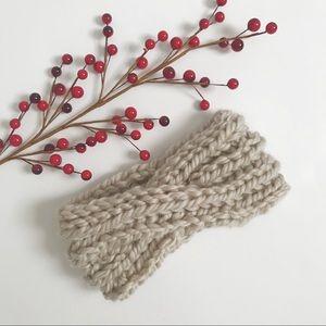 Handknit Turban Headband