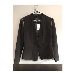 NWT H&M black blazer size 10