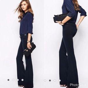 J Brand Love Story Bell Bottom Black Jeans