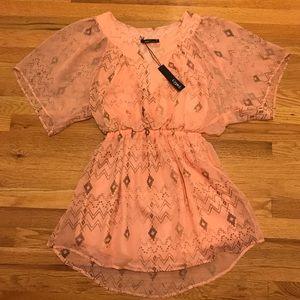 Gypsy 05 Kimono style Mini Dress/Tunic