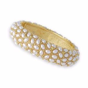 Pearl Cabochon Bracelet