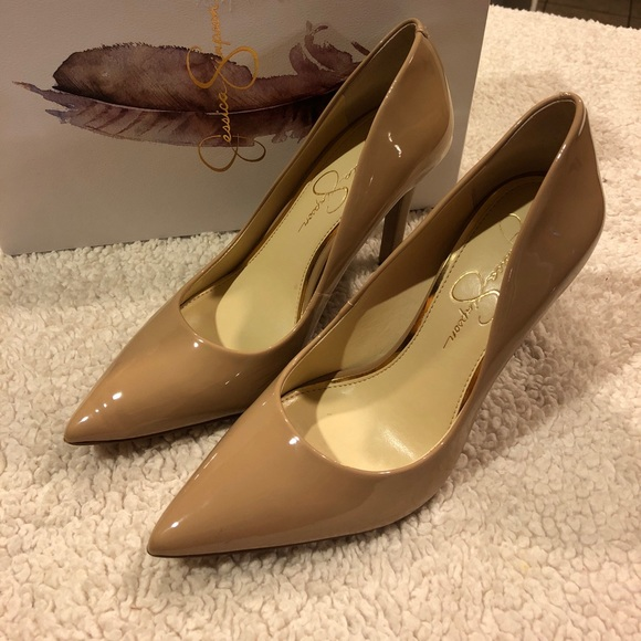 a60983daad2e Jessica Simpson Shoes - Jessica Simpson Nude Cassani Pumps