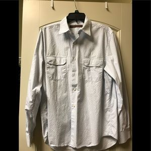 EUC Perry Ellis Long Sleeve Dress Shirt
