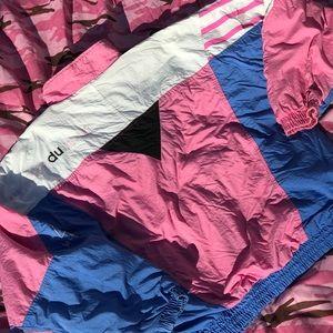 Vintage women's pink track jacket