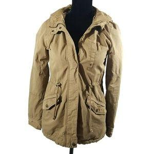 H&M Hooded Utility Jacket