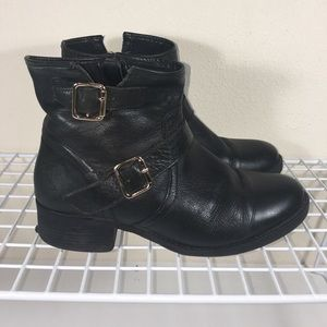 Steve Madden Tiarraa Leather Bootie Sz. 9.5