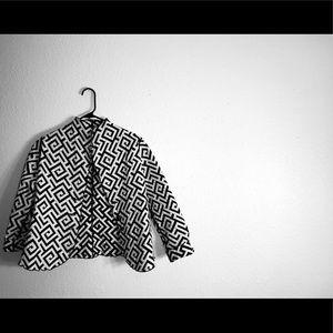 Reversible, Printed Blazer