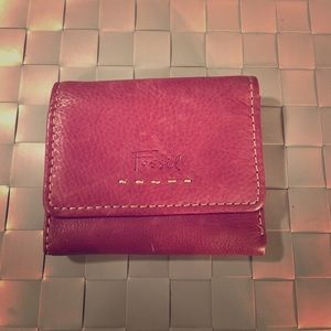 Fossil | Genuine Leather | Maroon | Wallet |