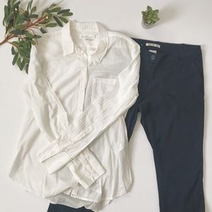 H&M White Button Down