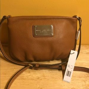 Marc Jacobs saddle leather Percy Q Crossbody