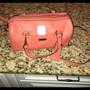 New without tags, peach colored, Coach handbag