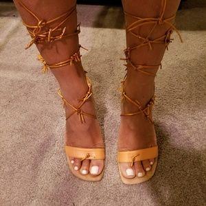 Dries Van Noten barbed wire sandal 7.5