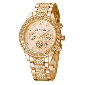 GENEVA GOLD WATCH WOMEN WATCHES