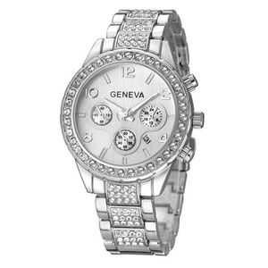 GENEVA ROSE silver WATCH WOMEN WATCHES